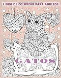 Gatos - Libro de colorear para adultos