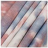 Gewaschener Denim Aus 100% Baumwolle Designer-Stoff Mit