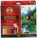 KOH-I-NOOR 3713 Lápices Mondeluz acuarela de colores - Surtido de...