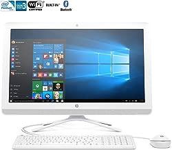 HP 21.5-Inch Full HD IPS All-in-One High Performance Desktop PC, Intel Pentium Quad-Core Processor, 4GB RAM, 1TB 7200RPM HDD, DVD+/-RW, WIFI, Bluetooth, HDMI, Windows 10, Silver