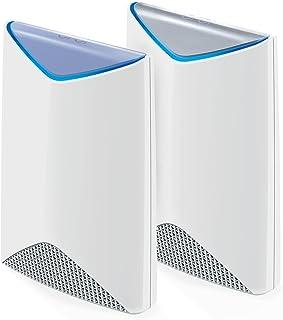 NETGEAR ORBI Business Tri-Band Fast Wireless WiFi Router & Satellite System Kit (SRK60-100S), White, SRK60-100AUS
