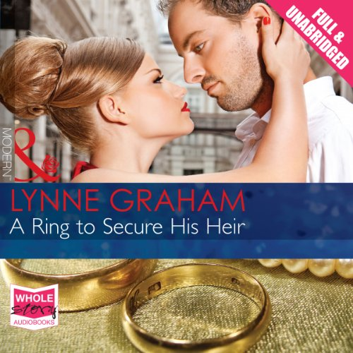 A Ring to Secure His Heir audiobook cover art