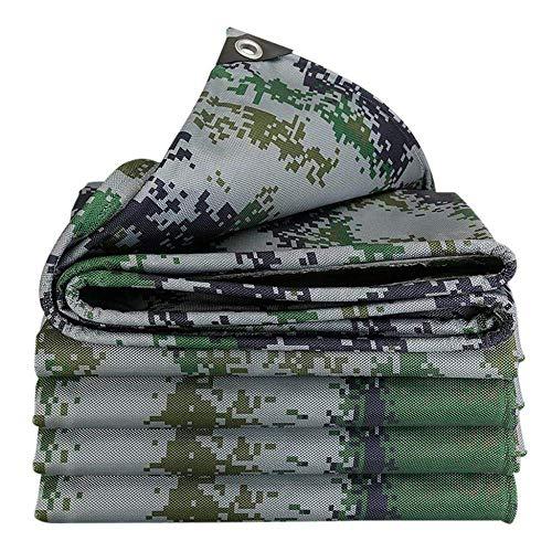 Lona impermeable para jardinería, sombreado neto grueso grueso impermeable engrosamiento tela Oxford protector solar poncho a prueba de lluvia resistente al polvo suave antidesgarro antienvejecimiento