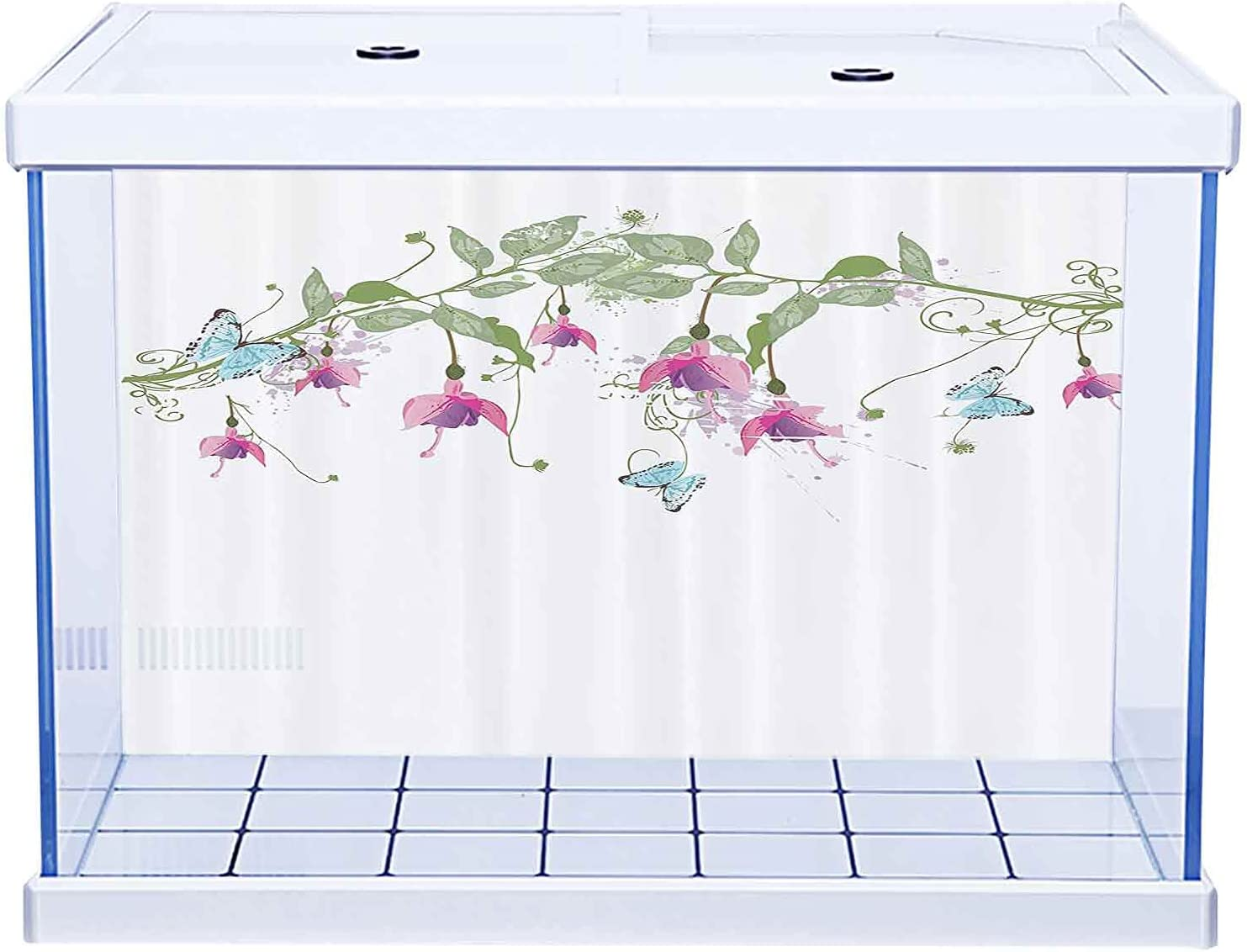 Fish Tank Undersea World Background San Francisco Mall Challenge the lowest price Flower Collectio House Decor