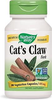 Nature's Way Cat's Claw Bark 1,455 mg, 100 Vegetarian Capsules, Pack of 2