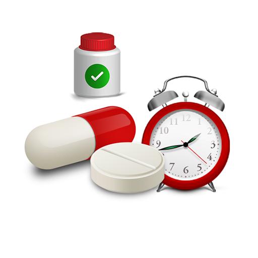 Erinnerung für Medikamente, Pillen.Alarm Tabletten