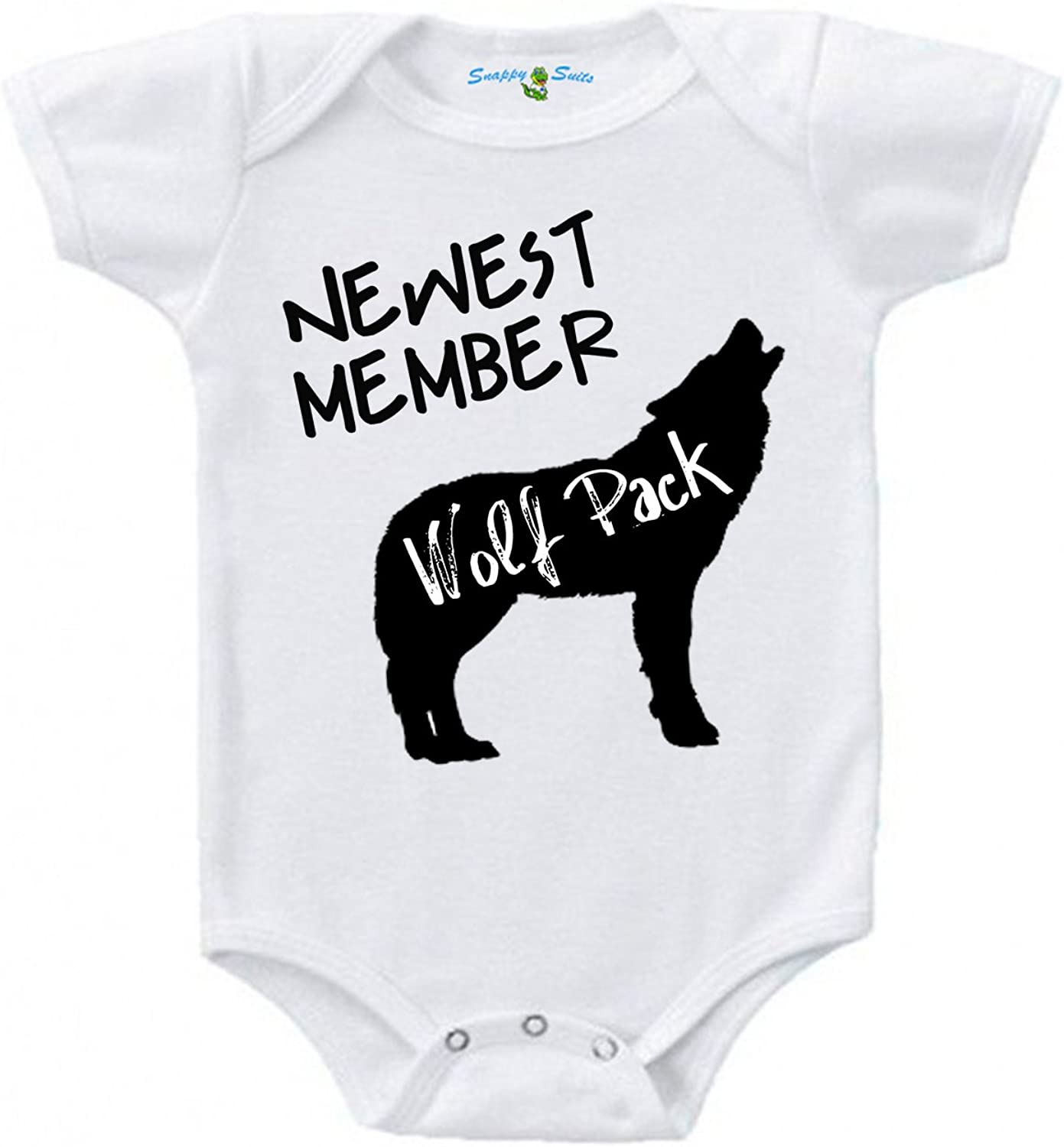 Snappy Suits Newest Member of Complete Free Shipping The Wolfpack Cute Piece S Baby Outlet ☆ Free Shipping One