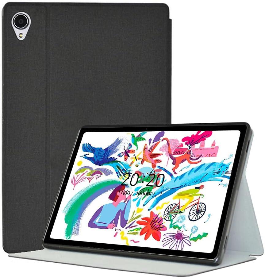YGoal Funda para Alldocube iPlay 40 - Ligero Multiángulo PU Cuero Business Folio Carcasa para Alldocube iPlay 40 10.4 Pulgada Tablet, Negro