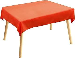 Nappe de table, chemin de table, linge de table de restauration, collection Vivid unie, facile d'entretien, lavable