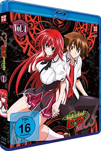 Highschool DxD: New - Staffel 2 - Vol.1 - [Blu-ray]