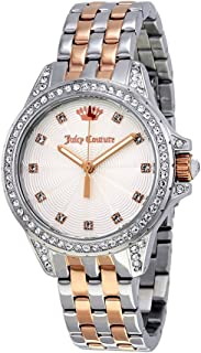 Juicy Couture Charlotte Two Tone Silver Rose Gold Analog Watch - 1901535