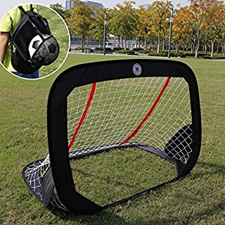 """WISHOME 47.3"""" Folding Pop-Up Goal Collapsible Children..."""