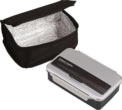 オーエスケー メタルモードNo.3 お弁当箱 保冷バッグ付 シルバー BL-9HF