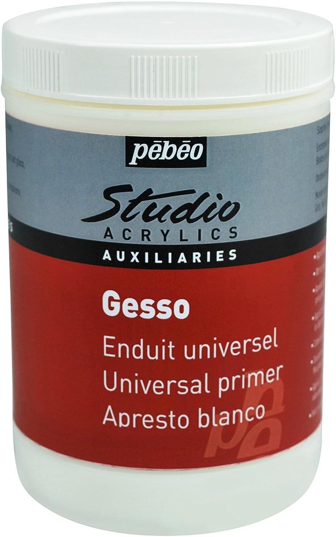 Unbekannt Pebeo, Studio Acrylics Auxiliaries, Gips, 1 Liter, Wei