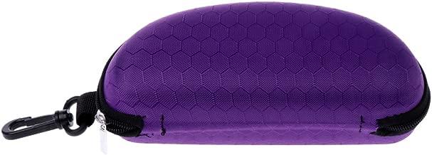 Manyo Portable /Étui /à Lunettes Zipp/é Rigide Etui /à Lunettes en EVA /Étui /à Lunettes Femme de Couleur Unie Boite a Lunette Vintage Lunettes de Protection Organisateur