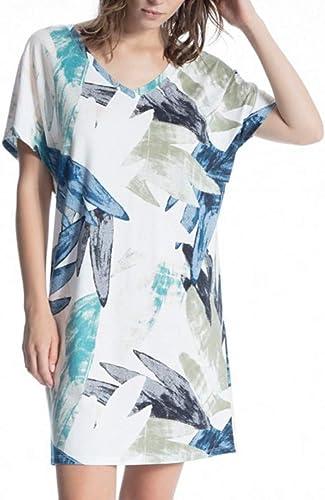 Calida Favourites Trend 2 Loungedress, L nge 90cm Damen