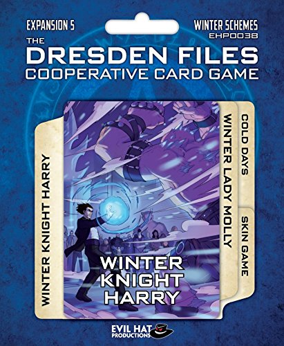 Evil Hat Productions EHP00038 Dresden Files: Cooperative Card Game Expansion 5-Winter Schemes, Mehrfarbig