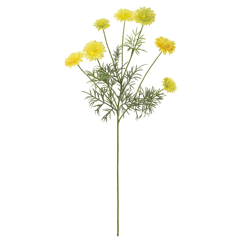 東京堂 造花 イエロー 花径 約3~5×全長 約56cm MAGIQブランド ジュディデージー FM001861-004
