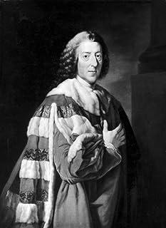 ウィリアム・ピット(1708-1778) Nearl Of Chatham English Statesman Oil On Canvas リチャード・ブロンプトンスタジオより (1734-1783) ポスタープリント (24 x 36)