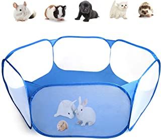 Casifor Guinea Pig Cage Rabbit Cage Indoor with Mat Playpen Perfect Size for Small Animal..