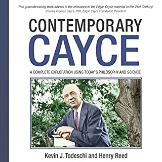 Contemporary Cayce audiobook cover art