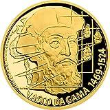 Power Coin Vasco Da Gama On The Waves Moneda Oro 10$ Niue 2020