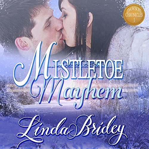 Mistletoe Mayhem audiobook cover art