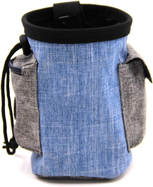 Hai Yan Boutique Pet Bag Pet Bag  pet Out Bag, Outdoor Training Bag, Waterproof Material Training pet Bag (Height 17×Width 12cm) (color   A)