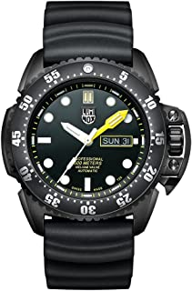 Luminox Men's 'SEA' Swiss Automatic Stainless Steel and Rubber Casual Watch, Color:Black (Model: 1521)