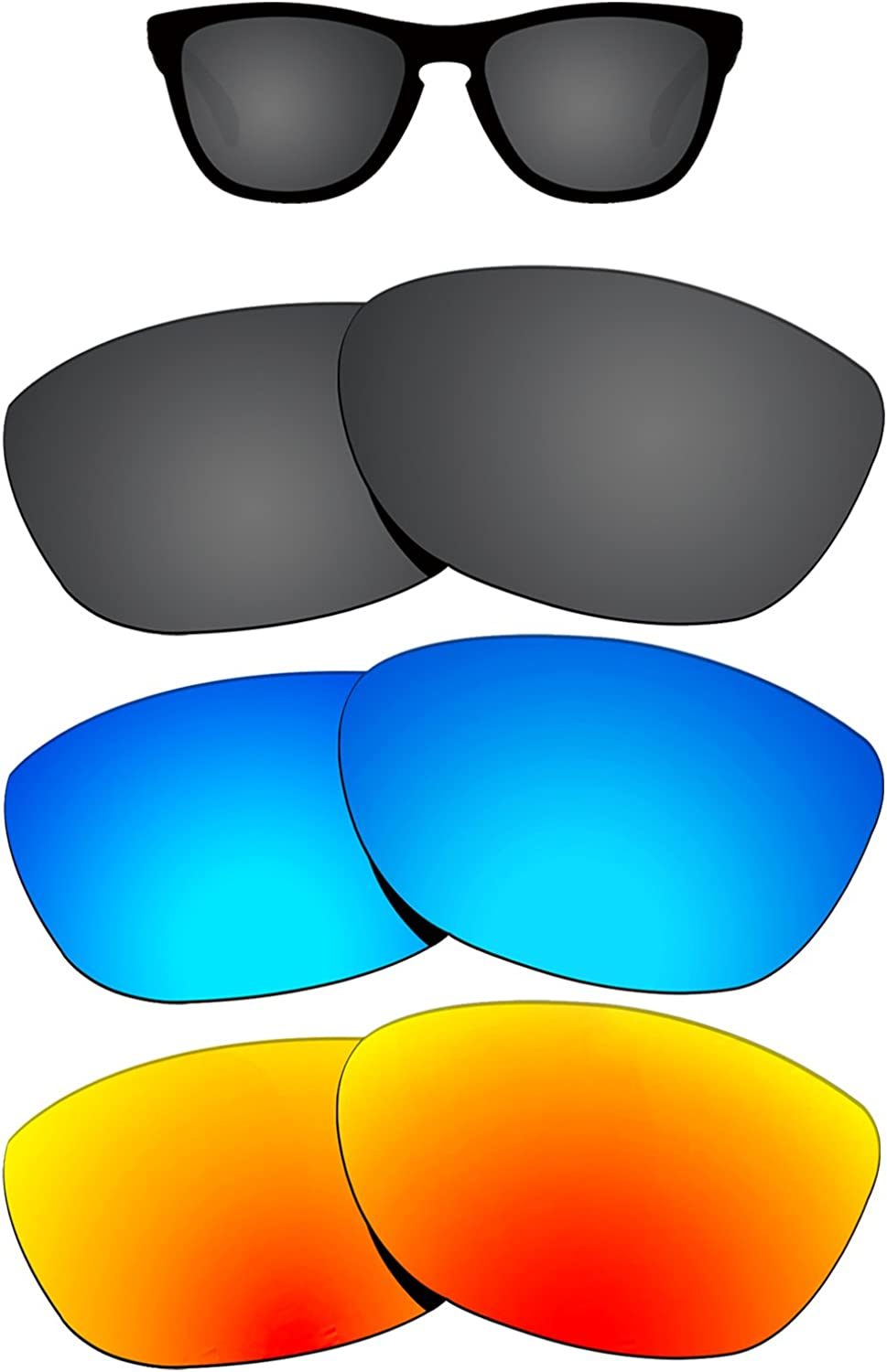 Max 78% OFF Kygear Replacement Lenses for Oakley Brand new Sunglass Polarize Frogskins