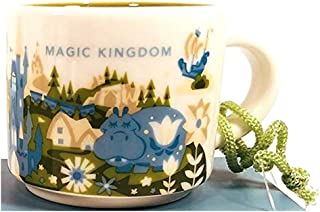 Disney Parks Magic Kingdom You Are Here Starbucks 2 Oz Mug Demitasse Ornament