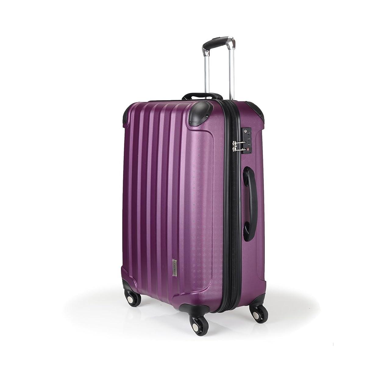 ベーコンペット警官スーツケース TSAロック 超軽量 KT063F
