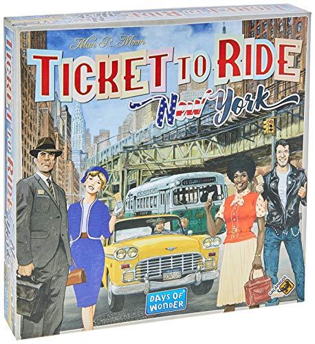 Ticket To Ride New York, Galápagos Jogos,