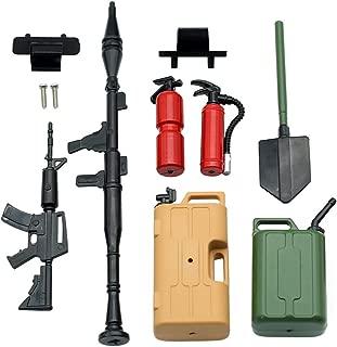 INJORA 1 10 RC Accessories Tool Set Kit, RC Crawler Decoration for RC4WD D90 D110 Axial SCX10 Tamiya CC01