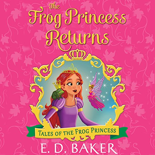 The Frog Princess Returns audiobook cover art