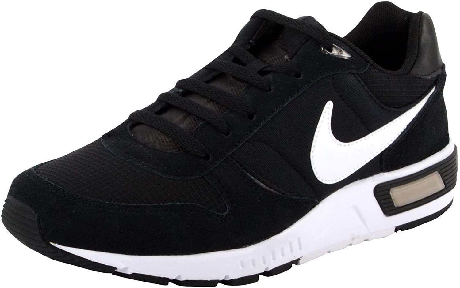 Nike Nightgazer Running shoes Mens Black White Fitness Sports Trainers Sneakers