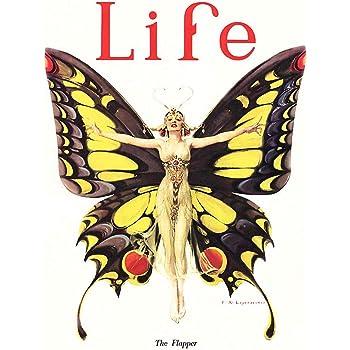 Wee Blue Coo Magazine 1922 Life Butterfly Dancer Unframed Wall Art Print Poster Home Decor Premium
