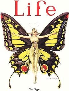 Bumblebeaver Magazine 1922 Life Butterfly Dancer FINE Art Print Poster CC372