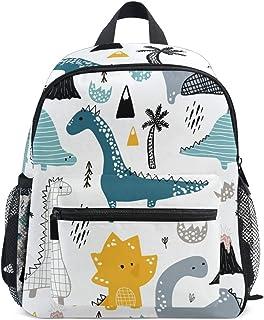 Cute Kids Toddler Backpack Dino Scandinavian Style Children Bag, white (white) - g6413269p204c238s338