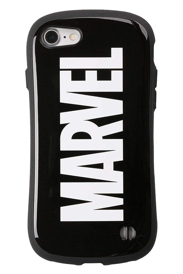 キッチン尽きるレスリングiFace First Class MARVEL iPhone8 / 7 ケース 耐衝撃/ロゴ/ブラック