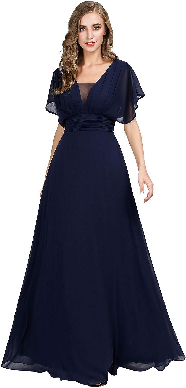 Ever-Pretty Women's Elegant V-Neck Formal Evening Dresses 7851