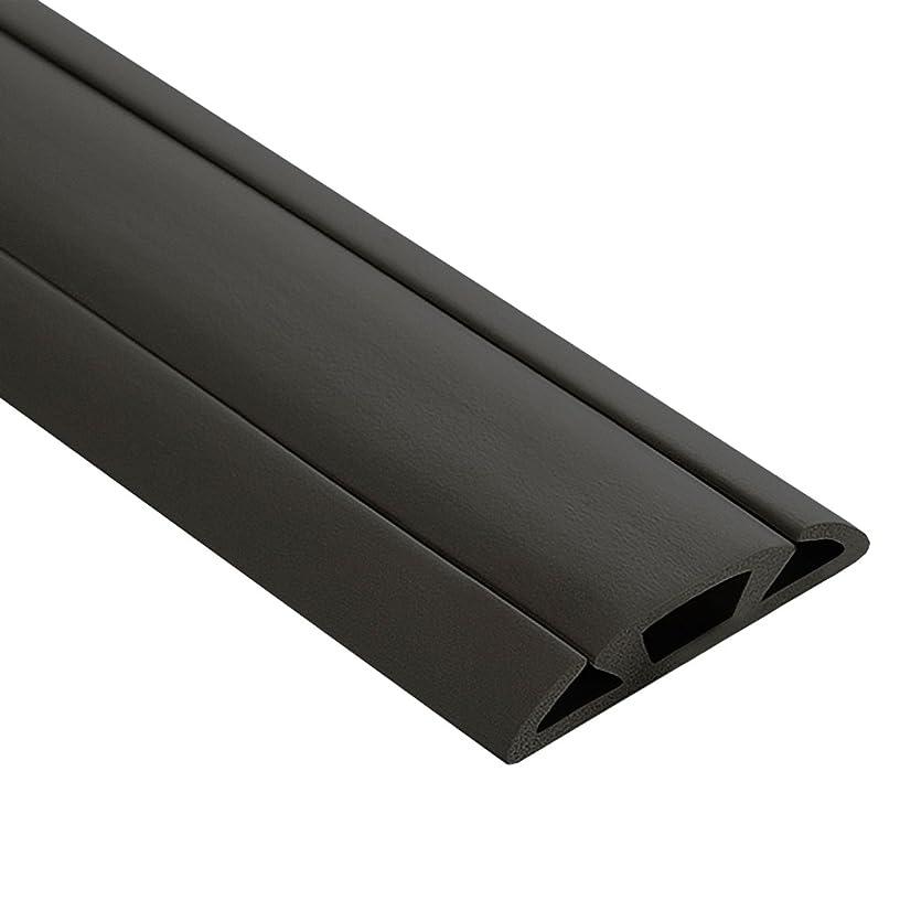 UT Wire UTW-CP1501-BK Cord Protector, 15ft, Black