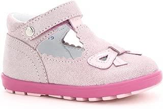 Bartek Baby Girls Leather First Steps Shoes 11467/GL1 Light Pink (Infant/Toddler)