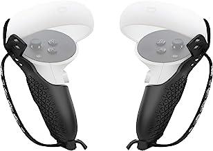 AMVR - Custodia protettiva con cinturino regolabile da polso per joystick per Oculus Quest