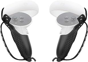 AMVR Housse de protection pour manettes tactiles Oculus Quest 2 avec sangle de poignet réglable
