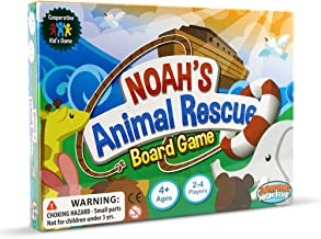 Noah's Animal Rescue! Kids #1 Cooperative Matching Game for Kids Ages 4 and Up - Teach Children New Skills While Having Fun - Hot Toys for 2019. Learning Board Games Ages 4 to 8.