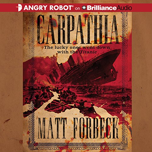 Carpathia audiobook cover art