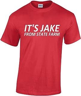 It's Jake. from State Farm Funny Commercial Sarcastic Joke Humor Insurance Men's T-Shirt