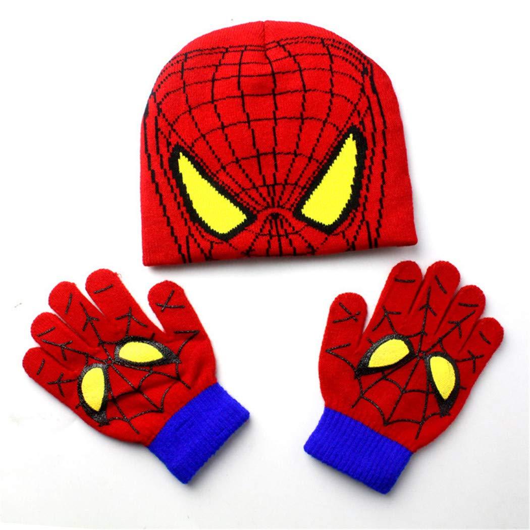Knit Spiderman Hat Pattern - 1000 Free Patterns