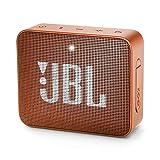 JBL GO 2 – Altavoz inalámbrico portátil con Bluetooth – Parlante resistente al agua (IPX7) – hasta 5h de reproducción con sonido de alta fidelidad – Naranja